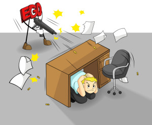 http://www.dreamstime.com/royalty-free-stock-photography-ego-can-destroy-your-work-success-vector-shooting-office-guy-image37907057