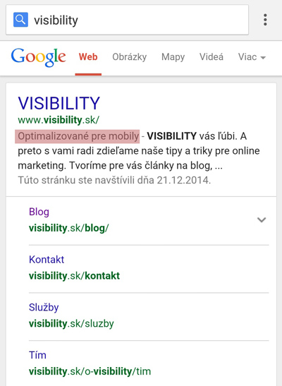 VISIBILITY na Marketing Festivale